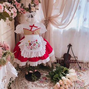 Новое поступление летних детских платьев 2020, испанское платье на день рождения, платье-пачка принцессы, милое платье в стиле Лолиты