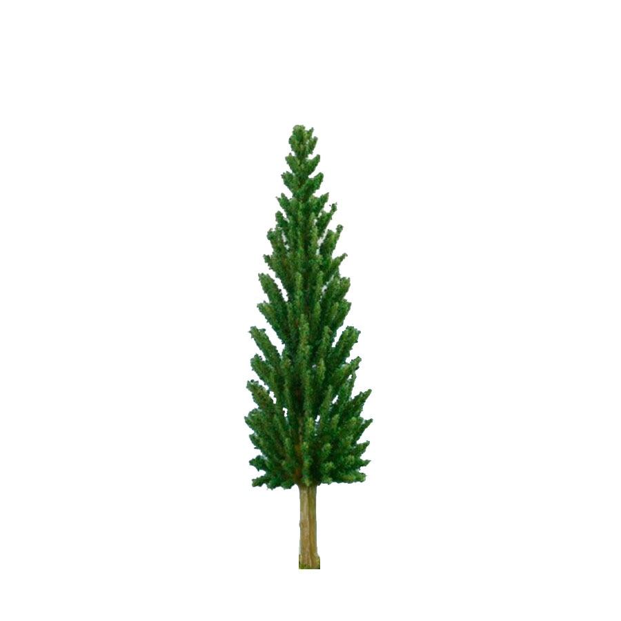 2018 Hot 200pcs/lot 6-9cm miniature plastic Green Model Trees for ho N Z scale train layout Garden Pack