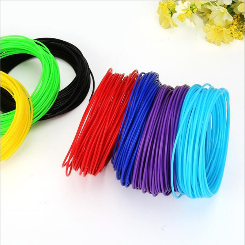 3d Pen Material Printer PCL Filament Plastic 25 1.75mm Colors 5 Metres Threads Materials For Kid Drawing Toys