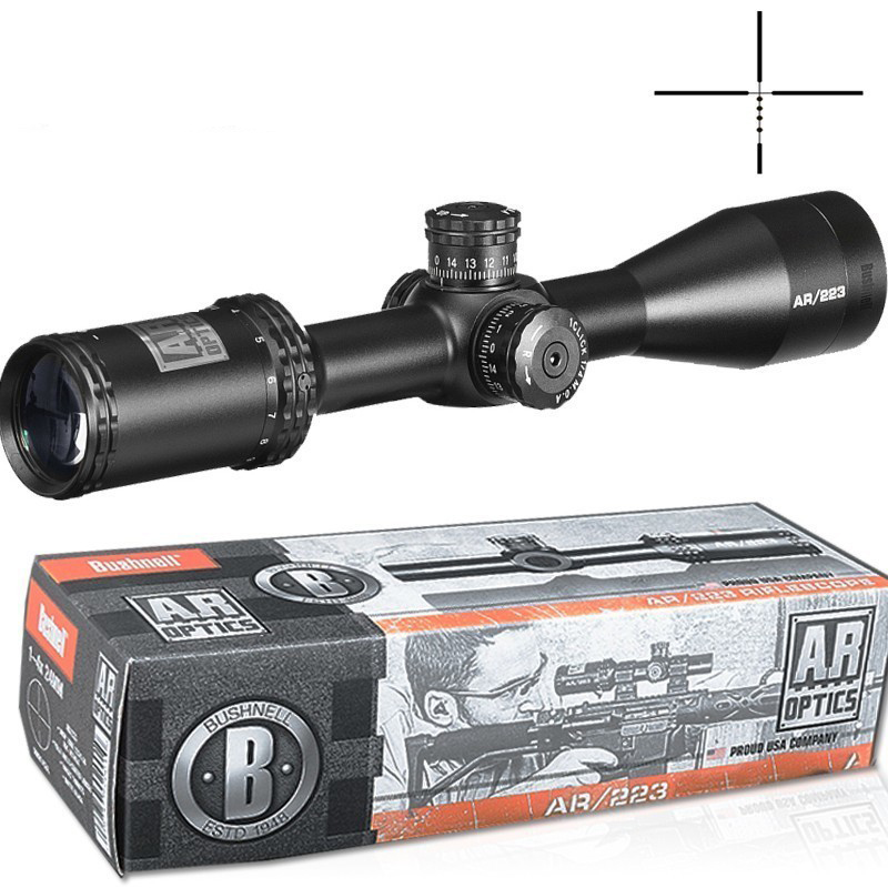 3-12X40 AR Optics Drop Zone-223 Reticle Tactical Riflescope With Target Turrets Hunting Scopes For Sniper Rifle