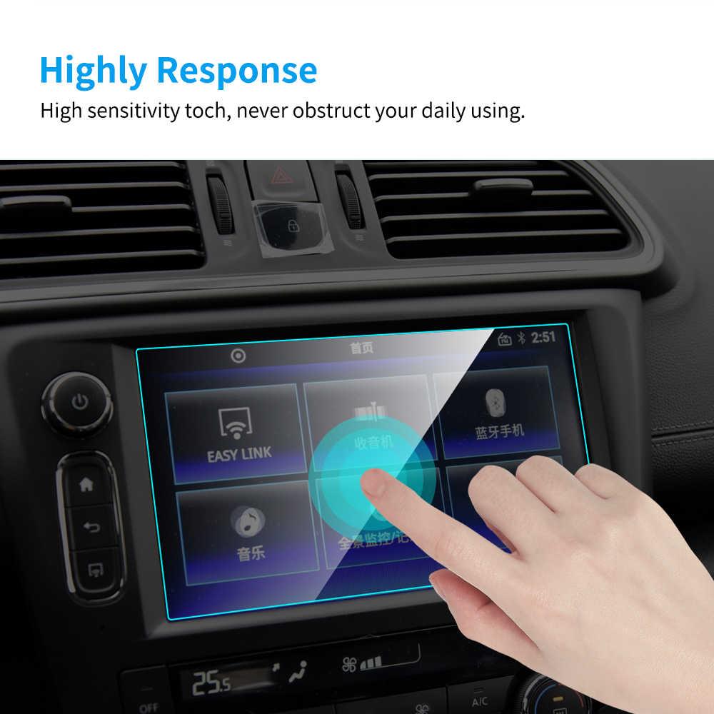 Автомобильный GPS навигационный экран протектор для Renault Kadjar 2016- 2020 авто внутренняя защитная пленка из закаленного стекла автомобильные аксессуары