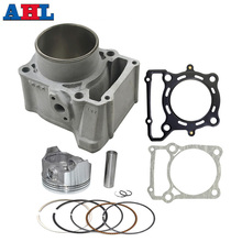 цена на Motorcycle Engine Parts For KAWASAKI KLX300 KLX 300 , air cylinder block & piston kit & cylinder head gasket kit