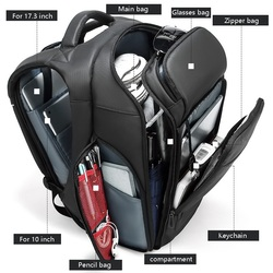 Waterproof Laptop Backpack 15.6 15 16 inch men Large Backpack Outdoor Travel Multi-function Backpack male Big Traveling bag 2019