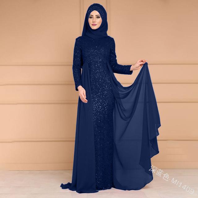 Full Turkish Evening Cardigan Gowns