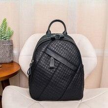 POMELOS vintage soft split leather backpack women 2019 new arrivals fashion purse back bag travel rucksack