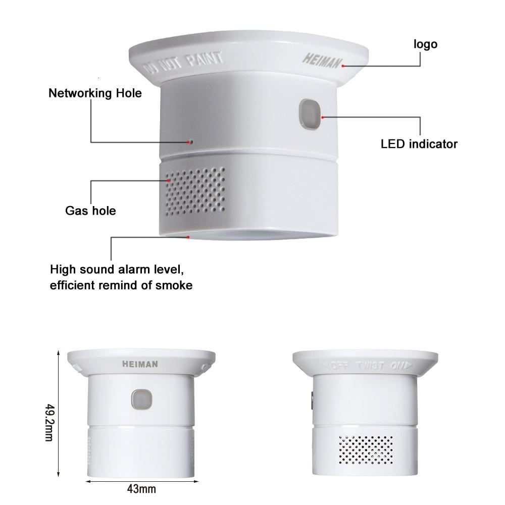 Detectores de monóxido de carbono