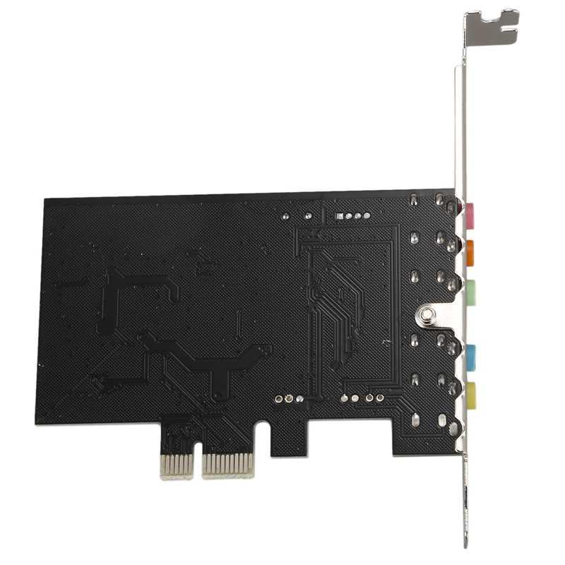PCI Express PCI-E 5,1 canal 3D Audio 6 canales tarjeta de sonido Digital para win XP