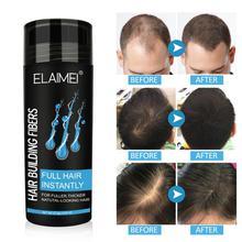 ELAIMEI Hair Growth Fiber Powder Replenishing Spray Hair Powder Instantly Thicker And Healthier Hair Styling TSLM1