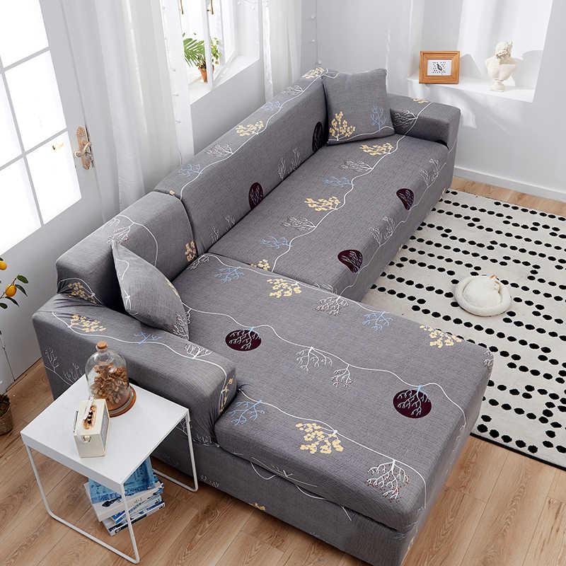 Streç Slipcover elastik kanepe kılıfı kanepe kanepe oturma odası için kapakları funda kanepe şezlong kapak salon cubre kanepeler kapak