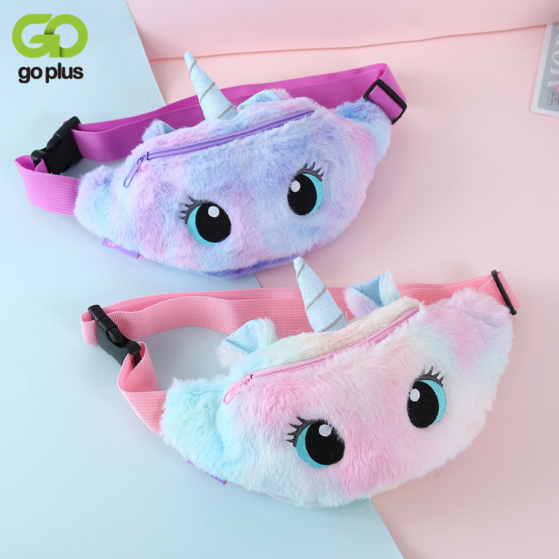 GOPLUS Waist Bag For Kids New Small Cute Bags Panny Pack Children Cartoon  Fashion Chest Bag For Girls Mini Wallet Set of Bags