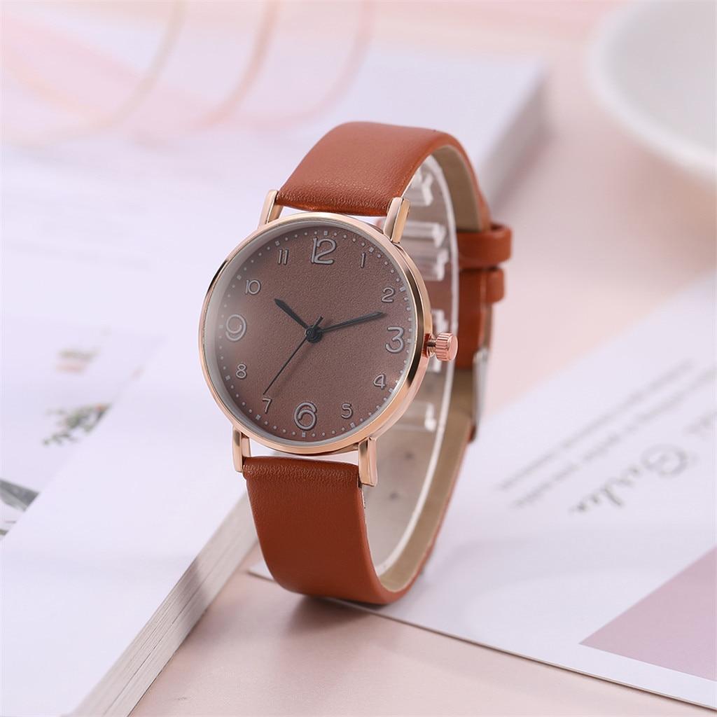 Analog Quartz Wrist Watch for women Simple Ladies Quartz Watch Temperament black Watch Female Models Bracelet watch YE1