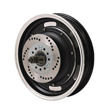 QS205 12inch 3000W V3 Brushless Hub Motor for electric scooter(China)