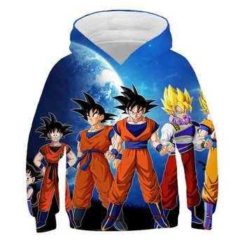 Anime 3D Hoodie Dragon Ball Z Unisex Sweatshirt Men's Hooded Hoodie PINSHUN Brand Customized Autumn New new men s dragon ball 3d printed hooded sweatshirt with kangaroo pocket hob aa03