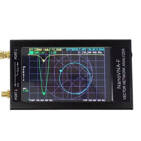 VHF UHF VHF VNA Набор для анализатора сети, 50 кГц-1000 МГц, 4,3-дюймовый ЖК-дисплей с Чехол L9 #2
