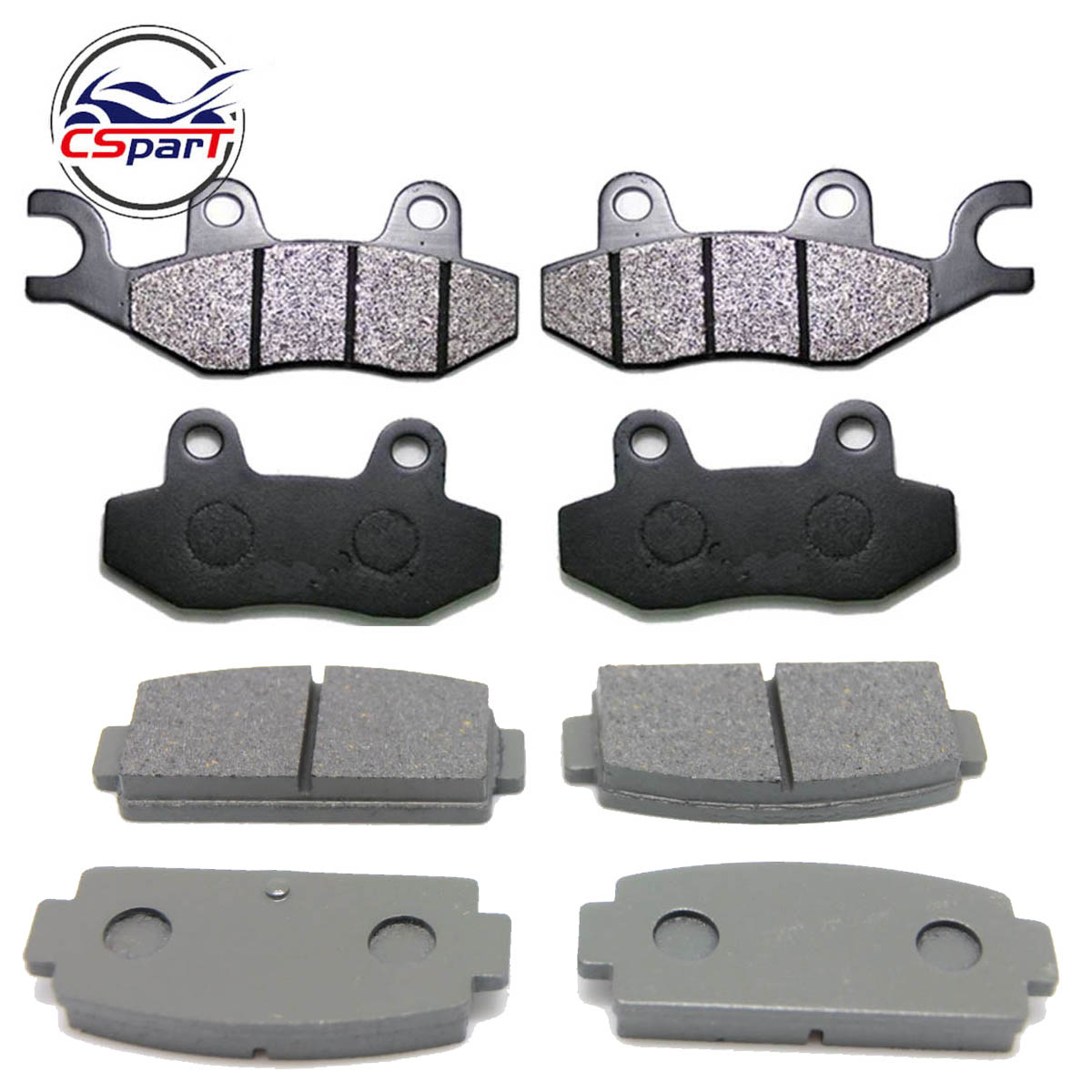 4 Sets Brake Pad For CFMoto ZFORCE CF500 500 550 600 800 Z5 Z6 Z8 500CC 600CC 800CC SSV 9060-080810 9060-080910 9060-081010