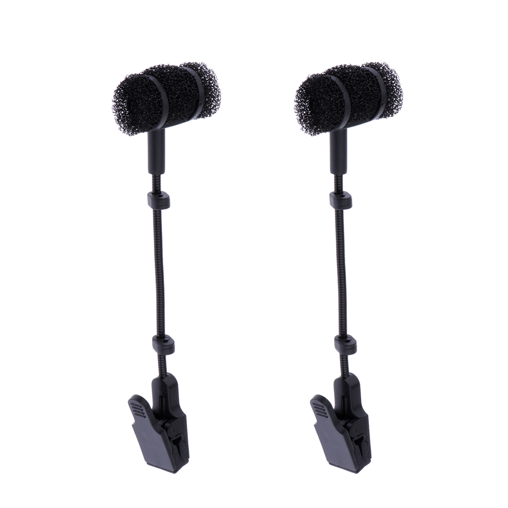 2 X Saxophone Microphone Clip Without Mic, Saxophone Microphone Stand Only