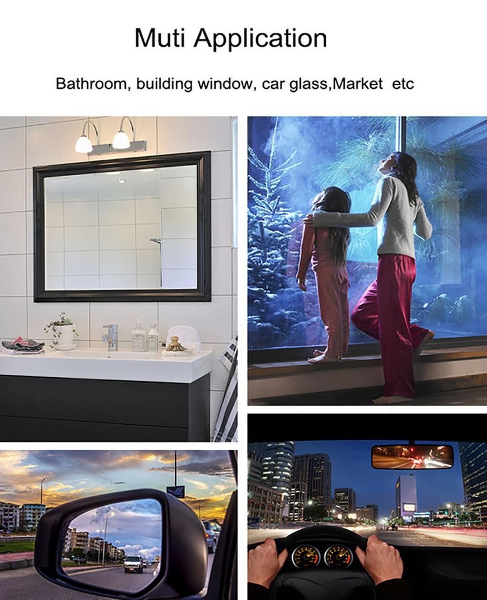 Anti-Fogging Film House Mirror Film Protective Film House Bathroom Glass Sticker