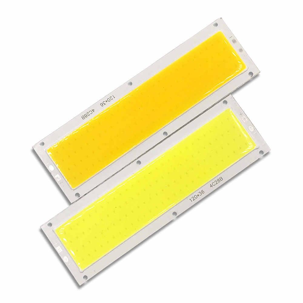 1000LM 10W 12V COB LED Glühbirne Rot Blau Warme Natur Cold Weiß Farbe 12CM LED Streifen panel Modul Licht Emittierende Diode