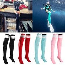 Calcetines para aletas de buceo de deporte acuático de 1,5mm, Calcetines antideslizantes, traje de neopreno para mujeres, niñas, accesorios de natación