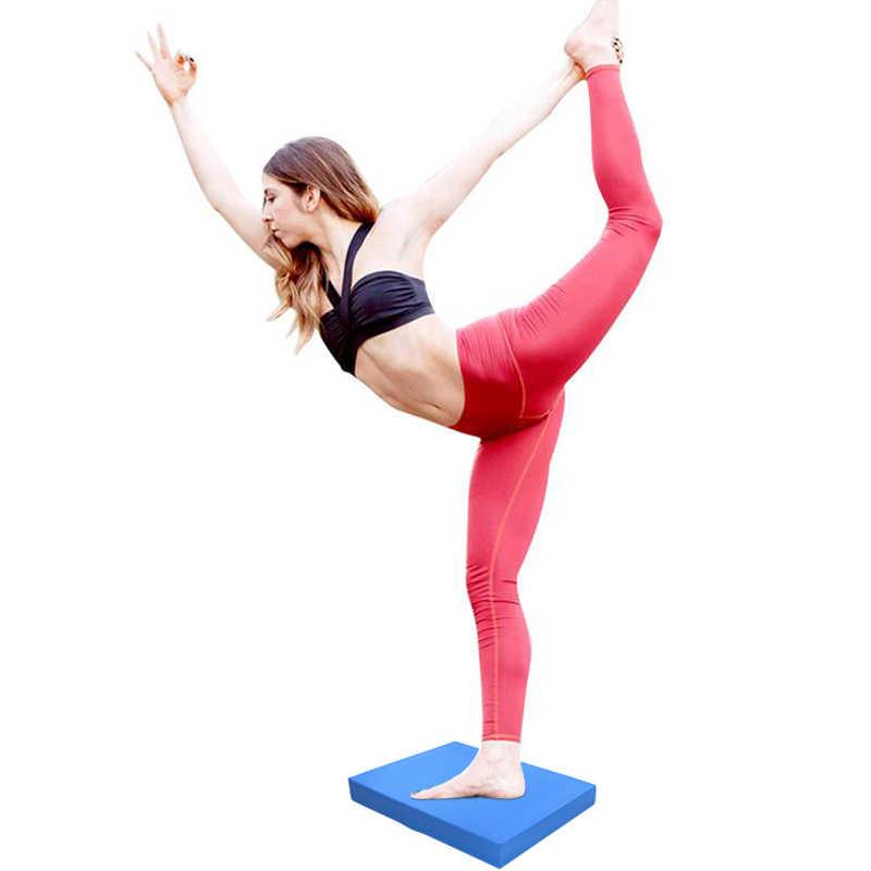 Balance Pad Non-slip Yoga Wobble Board Pilates Physio Stability Exercise Cushion