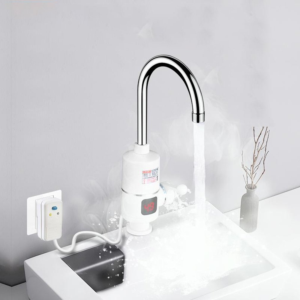 Export Instant Hot Electric Faucet Kitchen Hot And Cold Kitchen Po Electric Heating Hot Water Faucet