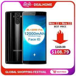 """DOOGEE BL12000 Big battery 12000mAh Smartphone 4GB 32GB 6.0""""18:9 FHD+ Screen 16MP+8MP 4 Cameras MT6750T Octa Core Cellphone 1"""