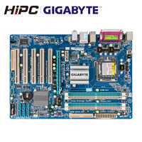 Gigabyte GA-P43-ES3G placa-mãe de mesa intel p43 lga 775 core 2 extremo quad duo ddr2 16g sata2 atx P43-ES3G usado mainboard