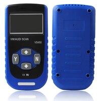 Vgate VS450 CAN OBDII Super może narzędzie do czytnik kodów skaner diagnostyczny Reset w Czytniki kodów i skanowania narzędzia od Samochody i motocykle na