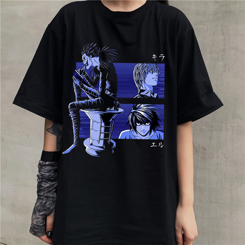 Death Note Japanese Fantasy Men Women Long Short Sleeve Baseball T Shirt 165e