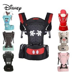 Mochila ergonómica de Disney para bebé, portabebés, portabebés con cinta, portabebés, canguro, hipsit, Mickey, recién nacido