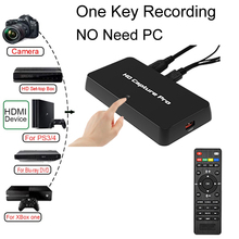 Video-Capture-Card Game-Recorder Xbox OBS Live-Streaming HDMI EZCAP 295 AV NO USB