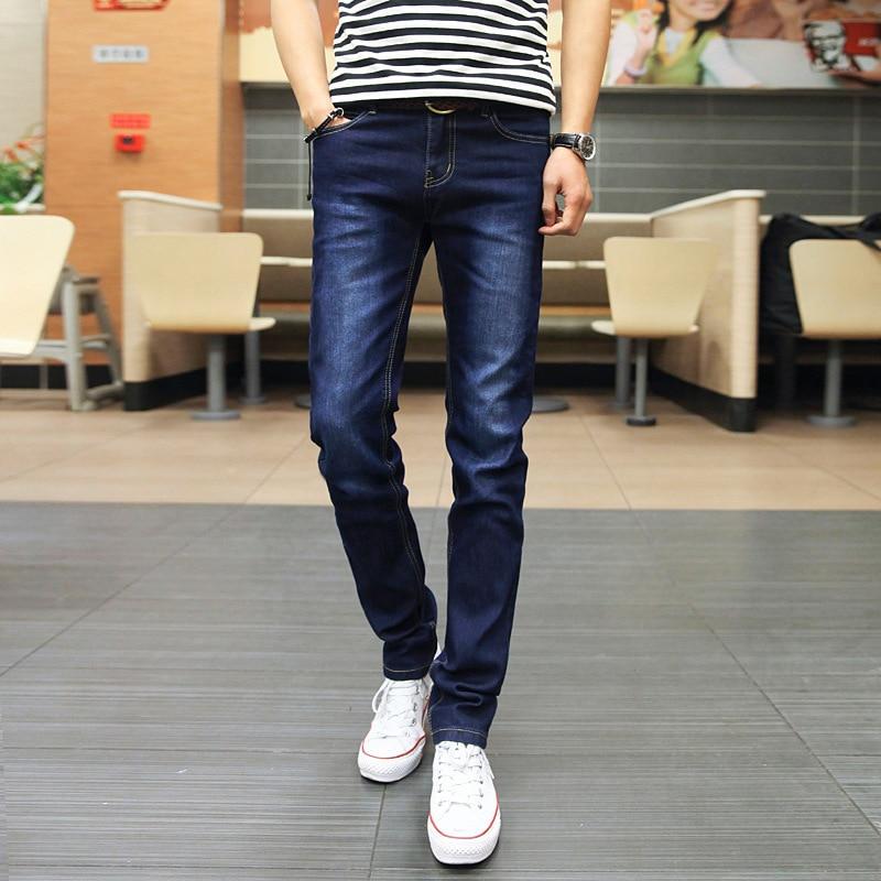 Men Hot Selling Jeans Men's Slim Fit Pants MEN'S Trousers Youth Fashion Korean-style Fashion MEN'S Trousers