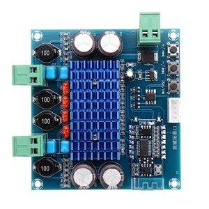 XH-A308 Беспроводной Bluetooth 5,0 TPA3116D2 цифровой Мощность Плата усилителя 2X50W стерео аудио 12V 24V модуль усилителя усилитель