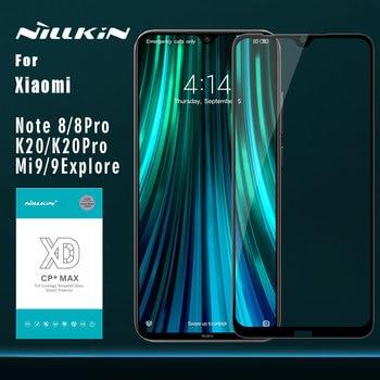 for Xiaomi Redmi Note 8 k20 8 pro Glass Nillkin XD CP+ Max Full Cover 3D Tempered Glass Screen Protector for Xiaomi mi 9 Glass