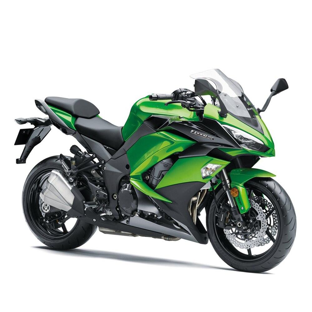 Parabrisas doble burbuja para Kawasaki Z1000SX Ninja 1000 2011-2013 cromo