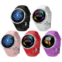 feed me M8 Smart Bracelet Fitness Tracker Blood Pressure Watch Sport Waterproof Smartband 5 Color Round Screen Smart Band feed me