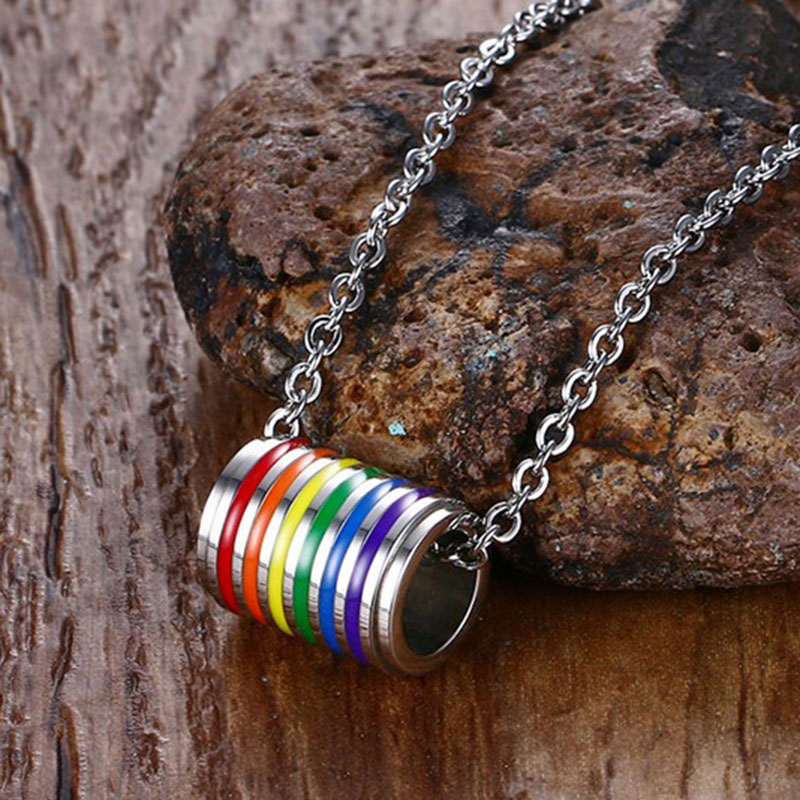 men lgbt necklace (13)