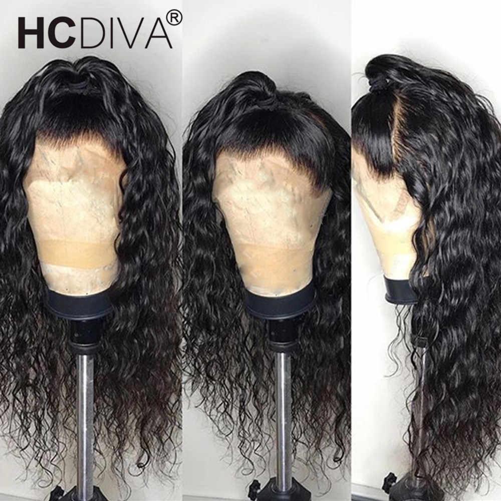 360 الدانتيل الباروكة أمامي موجة المياه الدانتيل الباروكة قبل قطعها مع شعر الطفل 8-26 بوصة البرازيلي ريمي باروكة من شعر طبيعي للنساء السود
