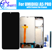 6.3 inch UMIDIGI A5 PRO LCD Display+Touch Screen 100% Original Tested LCD Digitizer Glass Panel Replacement For UMIDIGI A5 PRO