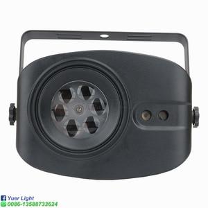 48 моделей RGB светодиодный светильник для дискотеки, 4 больших изображения, сценический лазерный проектор с дистанционным управлением, профе...