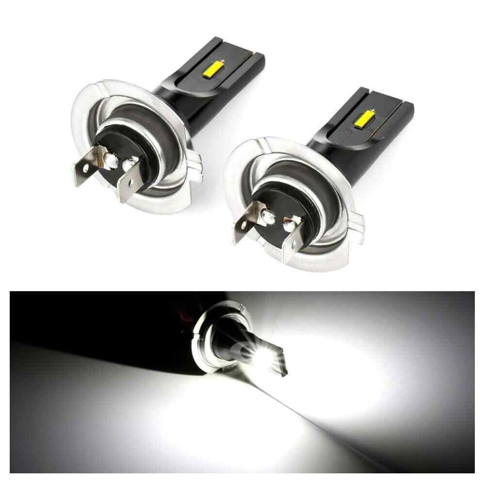 Nouvelle mise à niveau!!! 2 pièces H7 LED kit de conversion de lumière de brouillard ampoule haute puissance 6000k 100w phare ampoule en gros livraison rapide CSV