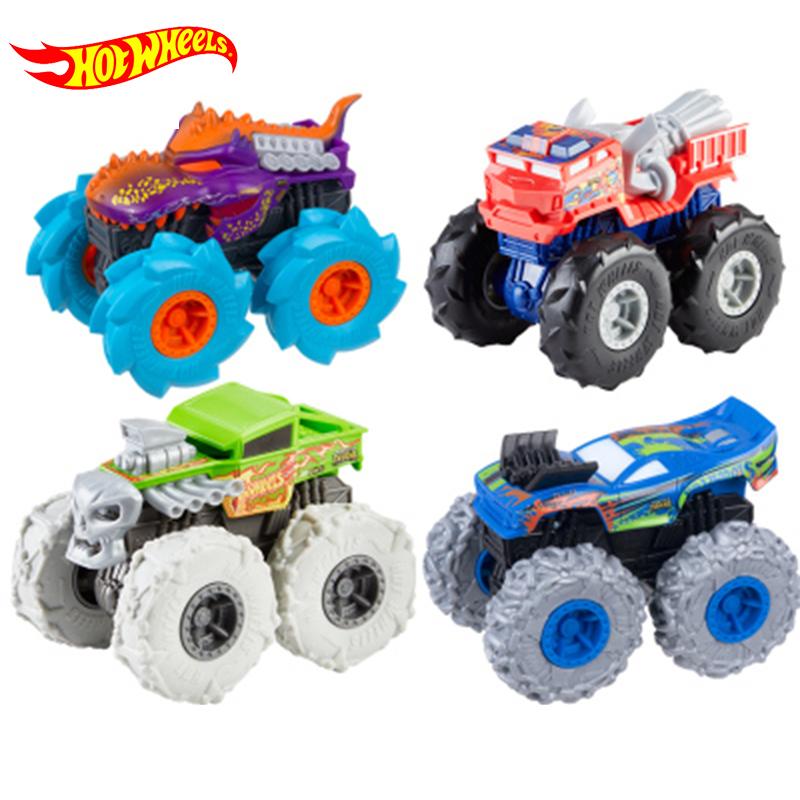 Original Hotwheels Car Off RoadToys Diecast 1:43 Kids Toys for Children Hot Wheels Monster Truck Toys for Boys Birthday Present