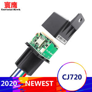 NEW CJ720 Better Tracking car Relay GPS Tracker Device GSM Locator Remote Control Anti-theft Monitoring Cut off oil power System