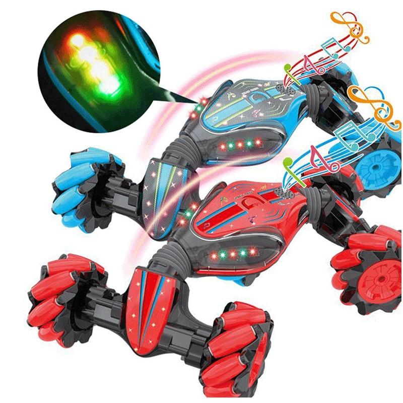 Weihnachten Stunt RC Auto Gesture Sensing Verdrehen Fahrzeug Drift Auto Fahren Spielzeug Geschenke SNO88 - 2