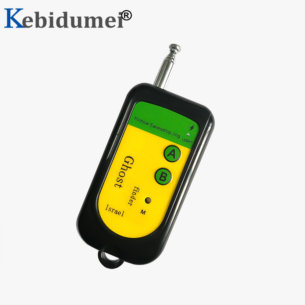 Kebidumei-Detector de señal inalámbrico RF rastreador de Mini cámara, Sensor 100-2400 Mhz, frecuencia 12V, dispositivo de alarma, verificación de Radio