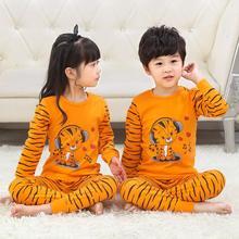 Kids Pijama Christmas-Sleepwear Tiger-Totoro Children Home-Clothes Infantil Baby Boys