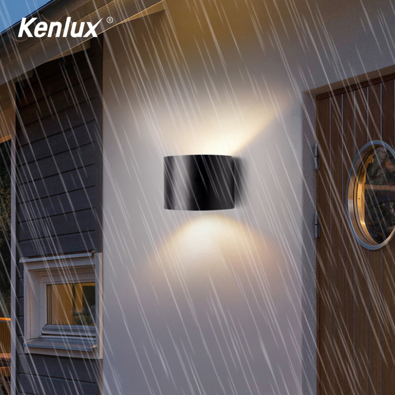 Adjustable LED Wall Light Outdoor Waterproof IP65 Porch Garden Wall Lamp Indoor Bedroom Bedside Decoration Light Lamp Aluminum title=