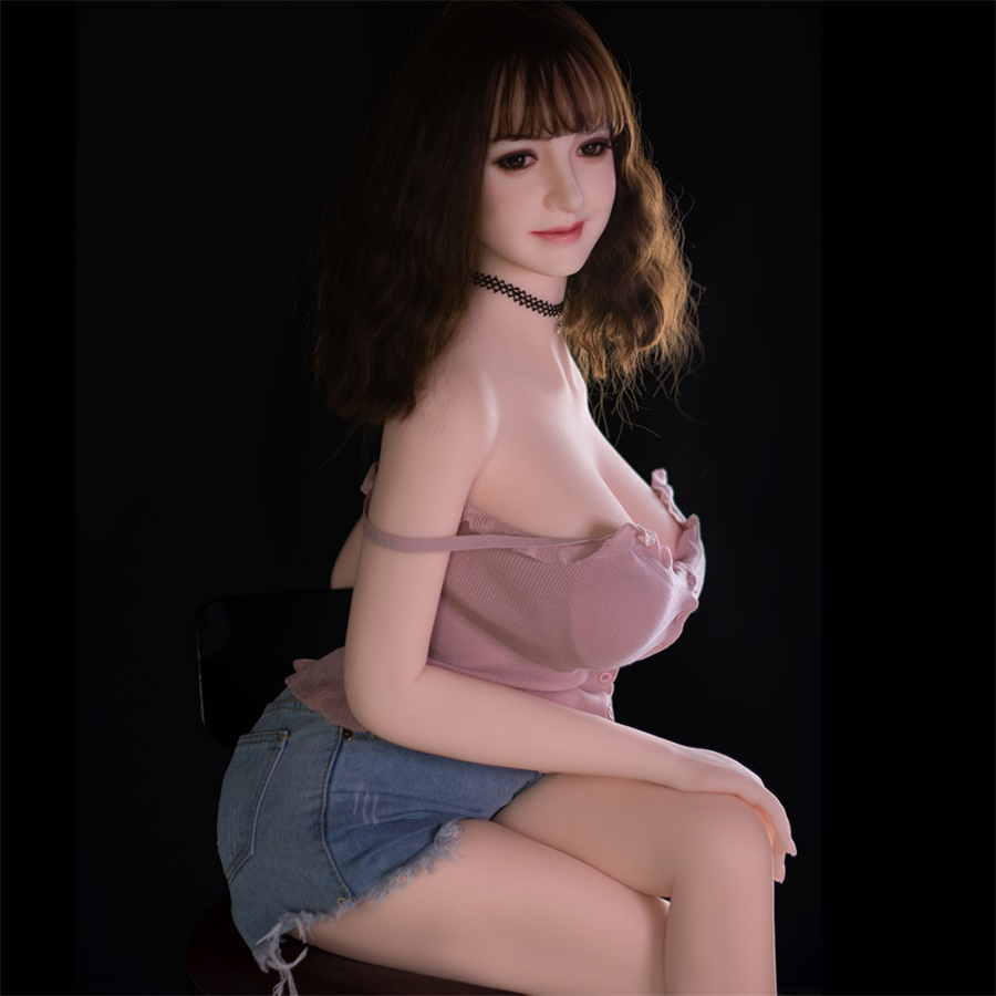 <font><b>Asian</b></font> Sexpuppe 158cm Real Silicone Artificial Breast Fat Tits Sexo <font><b>Dolls</b></font> Adult Love Anime Lifel Vagina Blowjob Pussy AV <font><b>Sex</b></font> Toys image