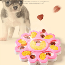 Pet Dog Training Games Dog Puzzle Toys Increase IQ Interactive Flower Slow Dispensing Feeding Feeder For Small Medium Dog Puppy