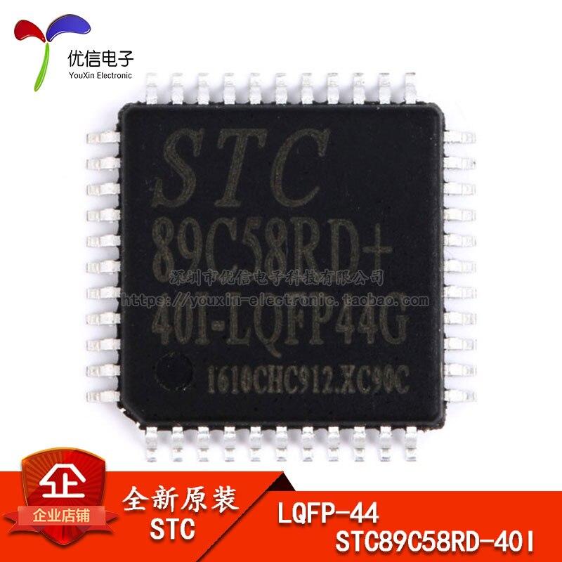 Оригинальный STC (макрокристаллический) патч STC89C58RD + 40I-LQFP44G STC одиночный чип